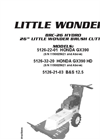 Little Wonder - Hydro Brush Cutter Brochure