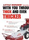 Little Wonder - Model 5126-22-01 - Hydro Brush Cutter Brochure