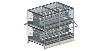 Combi Pullet - Pullet Rearing System for Layers