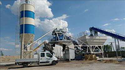 ARCMOV - Model MEV - Mobile Concrete Plant