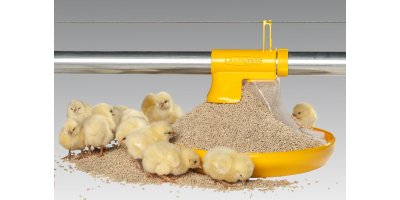 Pan Feeding Kick-off 330° Broilers
