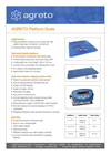 AGRETO - Model XK3 - Weighing Platform with Weighing Indicator Brochure