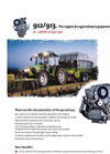 Model 912 - Agricultural Equipment Engine Brochure