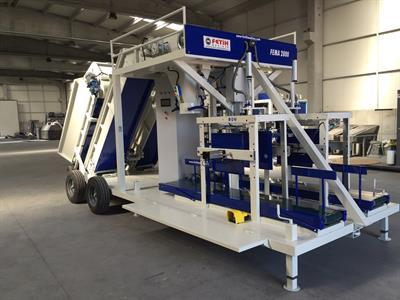 FEMA - Model 2800 Z - Double Weighing Mobile Packaging Machine