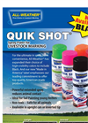 QUIK SHOT - Spray Paint Brochure