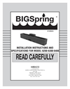 BigSpring - Model 6300/6301 - Waterer Brochure