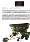 HSAB - Billet Planter Brochure