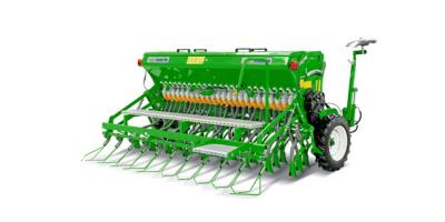 Spring Type Angel Universal Seed Drill Machine