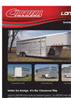 Lonestar - Heavy Duty Livestock Stock Trailer - Brochure