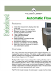 Model FT-A10C - Automatic Dripper Flow Tester Brochure