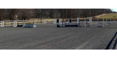 Rubber Horse Arena Footing