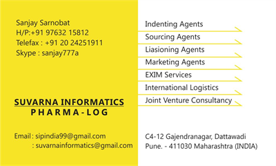 Suvarna Informatics Pharma Log