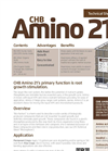 CHB Amino - Model 21 - Premium Humic & Organic Acid Brochure