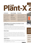 CHB Plant - Model X 21 - Premium Humic & Organic Acid Brochure