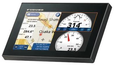 Furuno - Model GP-1871F - GPS/WAAS Chart Plotter With Built-In Chirp Fish Finder