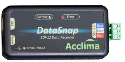 Acclima - Model SDI-12 - Portable soil water content data logger