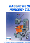 Rasspe - Model RS312 - Nursery Tying Machine Brochure