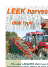 Disk Type Leek Harvester Brochure