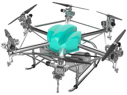 Hawkvine - Model AD003 - UAV Agriculture Sprayer technology for farming Manufacturer