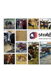 Strohfelder Platinum Extra Fein - Straw-Based Bedding Product for Cow Brochure