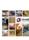 Strohfelder Platinum Extra Fein - Straw-Based Bedding Product for Pig Brochure