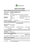 Model LXR Black - Potassium Supplement Safety Data Sheet