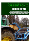 RiteDepth - Automatic Depth & Distance Controller Brochure