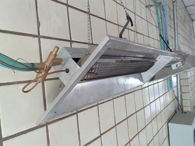Infrared radiant tube heater for poultry farm-2