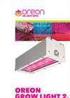 Oreon - Model 2.1 - Grow LED Light Fixtures Brochure