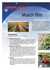 Mulch Polyethylene Film Brochure