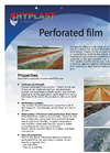 Perforated Polyethylene Film Brochure