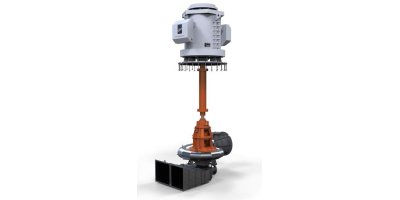 Rodelta - Model MVP - Vertical Dry Pit Pump, Single Stage with Metallic Volute Casing