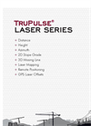 TruPulse - Model 200 Series - Laser Rangefinder Brochure