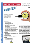 Model FDK/FDN - Mechanical Force Gages Brochure