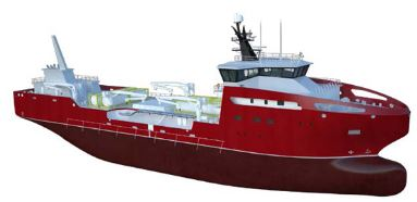 Vard - Model 8 50 - Live Fish Transportation Vessel