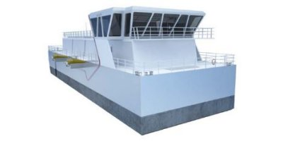 Vard - Model 8 52 - Fish Feed Barge