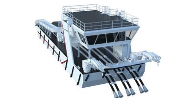 Vard - Model 8 53 - Live Fish Treatment Barge