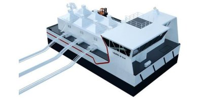 Vard - Model 8 54 - Fish Farm Operation and Maintenance Platform