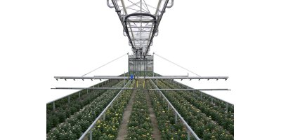 Rega - Model 2 - Automatic Irrigation Wagon for Greenhouses