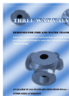 3-Way Valve for Water and Fish Transport Brochure