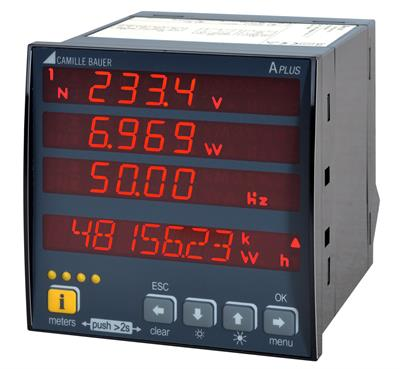 APLUS - Measurement, monitoring and power quality analysis in power systems.