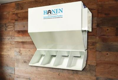 Hanen - Model LSF-4 - Automatic Cattle and Livestock Feeder