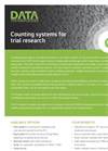 Counting Systems for Trial Research - Brochure