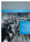 UltraAqua UV Disinfection Aquaculture Brochure