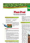 Plant-Prod - Fertilizers Brochure