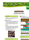 Nutricote - Slow Released Coated Fertilizer Brochure