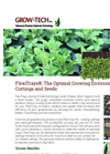 FlexiTrays - Stabilized Propagation Trays for Professional Grower Brochure