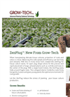 ZenPlug - Growing Media Brochure