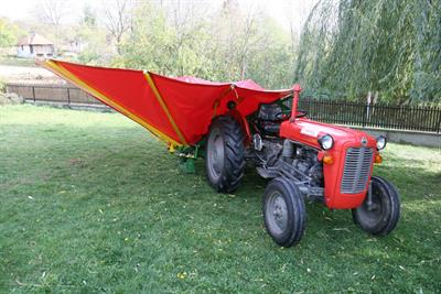 Elektronik - Model SP-05 - Harvesting Machine for Plums, Cherries & Olives