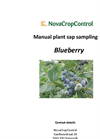 Manual Plant Sap Blueberry Sampling Services Brochure